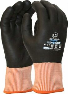 6 x Uci Icetherm XTREME Waterproof Nitradry Cut F Thermal Cold Winter Warm Glove