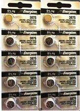 ENERGIZER 387S 394/380 + Spacer Ring (10 piece) New Battery Authorized Seller