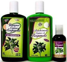 Shampoo & Conditioner & Oil Aceite Organico BERGAMOTA Natural Organic Bergamot