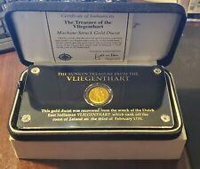 Netherlands Shipwreck Gold Coin Vliegenthart 1729 Gold Ducat w/ Box and COA R...