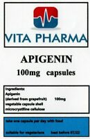HIGH STRENGTH APIGENIN 100mg 120 capsules PROSTATE HEALTH NERVOUS SYSTEM