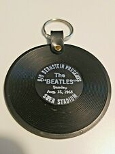 Sid Bernstein Presents The Beatles Sunday Aug. 15, 1965 Shea Stadium Key Chain