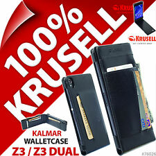 Krusell Kalmar WalletCase Wallet Flip Case Cover for Sony Xperia Z3 / Z3 Dual