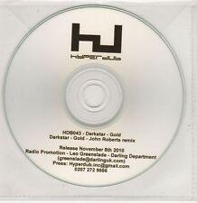 (GU153) Darkstar, Gold - 2010 DJ CD