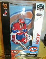 """Mcfarlane 12"""" Patrick Roy Red White and Blue  Montreal Canadians"""