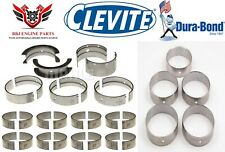 Oldsmobile V8 400 425 455 Clevite Rod Main And Durabond Cam Bearings 1965 - 1976