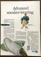 ORIGINAL 1967 Keds Men's Sneakers PRINT AD Advanced Sneaker Wearing