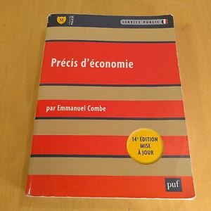 Précis d'économie - Grand Format  14e édition  Emmanuel Combe