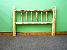 Rustic Log Headboard - Full $249 - FREE SHIPPING