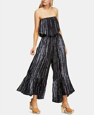 Free People Summer Vibes Strapless  Jumpsuit Size XL ~NWT