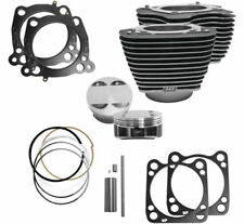 """S&S Cycle M8 Big Bore Cylinder Piston Kit 114"""" 128"""" Harley Touring Softail 17-20"""