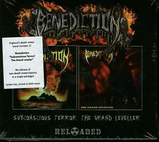 Benediction Subconscious Terror/The Grand Leveller limited edition gold 2 CD new