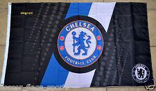 Chelsea Flag Banner 3x5 ft England Soccer Football Black