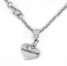 Godmother Necklace god mother diamond cut neck chain  mothers day best present