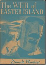 The Web of Easter Island by Donald Wandrei (First Edition) Arkham House