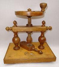 antique Machine à Sertir Les Verres De Montres Goussets