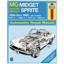 HAYNES AUSTIN-HEALEY SPRITE & MG MIDGET WORKSHOP MANUAL MGL2005X