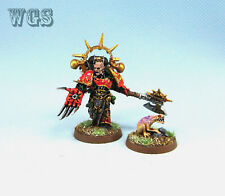 Warhammer 40K painted Chaos Space Marines Huron Blackheart CSM002