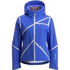 SPYDER Ski Apparel Jacket Coat Insulated Radiant Blue NEW Women's 10 NWT $700