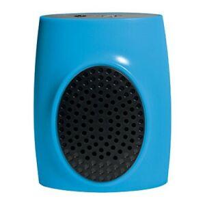 Polaroid 597 Bluetooth Wireless Portable Speaker Rechargeable Bat 3.5mm Aux Blue