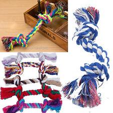 Multicolore Jouet Corde Pour Chien Chiot 2 Knot Coton Mâcher Os Outils 1PCS 2015