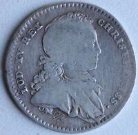 Gettone Della Presence Degli Stati Di Bretagna - IN Argento - Luigi XV - 1724 -