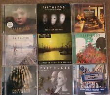 Faithless - 9x Album Job Lot - Dance & Electronica