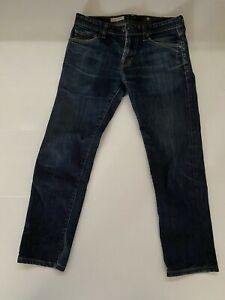 AG Adriano Goldschmied Men Matchbox Slim Straight Jeans W 30L 26 Altered Length
