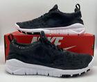 Nike Free Run Trail Shoes Black Anthracite White CW5814-001 Mens Size