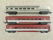 3 x Early Triang Continental Coaches in fair condition
