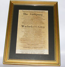 More details for 19th century theatre royal covent garden framed playbill printed e macleith 1821