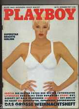 PLAYBOY  1987 / 12 / BRIGITTE NIELSEN, DANIEL ORTEGA, SEAN PENN & CH.BUKOWSKI