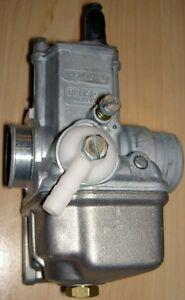 Dellorto VHB 26 FD NOS Ducati 250 single carburator with RIGHT HAND adjustments