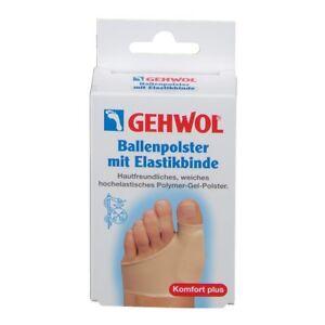 GEHWOL Bunion Cushion with Elastic Bandage Polymer Gel Left or Right Foot Feet