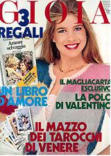 GIOIA N. 13 28 MARZO 1983 MODA ITALIAN FASHION MAGAZINE MARILYN MONROE