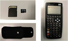 HP 50g Graphing Calculator + Funda + Micro SD Sandisk 2 Gb