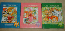 LOT 3 ERIC STURTEVANT FAIRY TALE JUNGLE BARNYARD 100 PIECE CHILDS JIGSAW PUZZLE