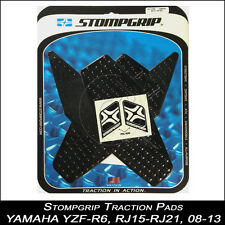 StompGrip Traction pads yamaha yzf-r6 08-16 rj15 negro cubierta depósito 55-10-0010b