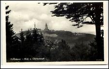 1955 Stempel Rossla Harz auf AK vom Kyffhäuser Sachsen-Anhalt DDR Postkarte