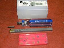 Circle Machine #98001 CQS-98001M Boring Bar Set