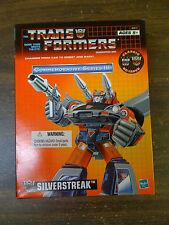 Transformers G1 Reissue Commemorative Edition Silverstreak TRU EX NEW FREE SHIP