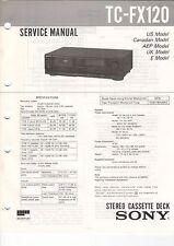 Sony-tc-fx120 - Service Manual grafico-b3188