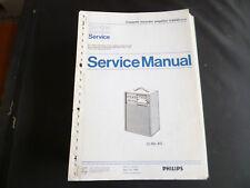 Original Service Manual Philips D 6550