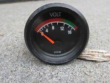 VDO Voltmeter 52mm Audi/VW from 1970's