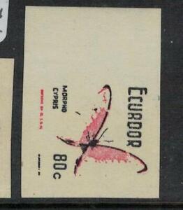 Ecuador SC 795 Imperf Proof MNH (4eel)