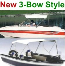 "NEW 3 BOW BOAT BIMINI CONVERTIBLE TOP COVER,PONTOON 70""-78"" FOLDING FRAME"