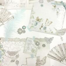 Arthouse Ava Butterfly Birds Fans Floral Roses Shabby Chic Collage Wallpaper
