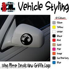 Vauxhall Griffin NUOVA ALA SPECCHIO Adesivi Decalcomanie X2