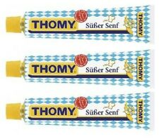 Thomy - bavarian sweet mustard - (3) three tubs for you