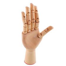 18X6cm Wooden Artist Articulated Right Hand Manikin Gift Art Alternatives Hand
